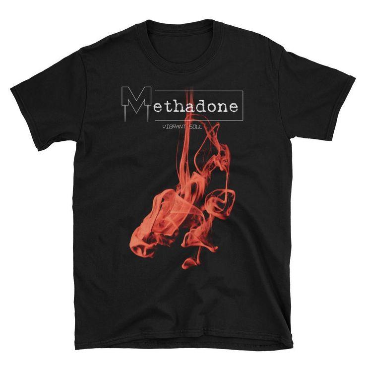 Vibrant Soul shirt for men by Methadone shirts, men, red, black.