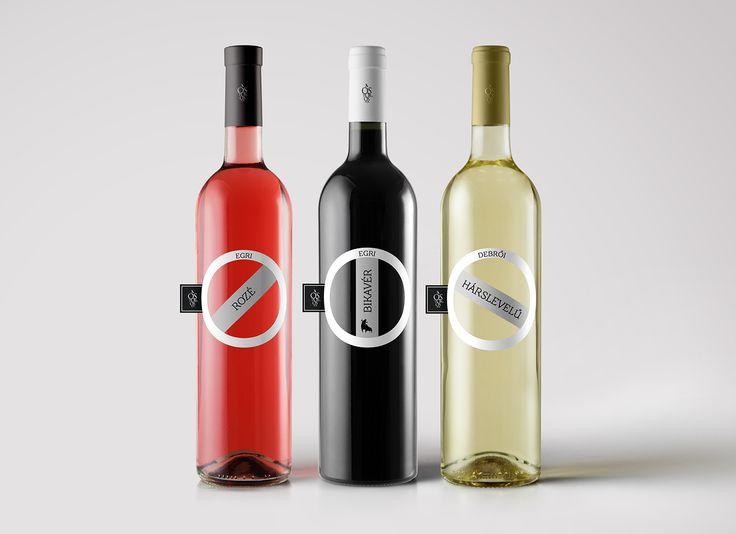 Premium - Ostoros wine label on Behance
