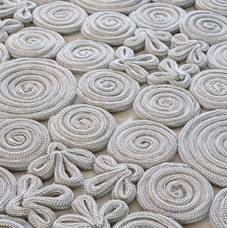 alfombra de espirales