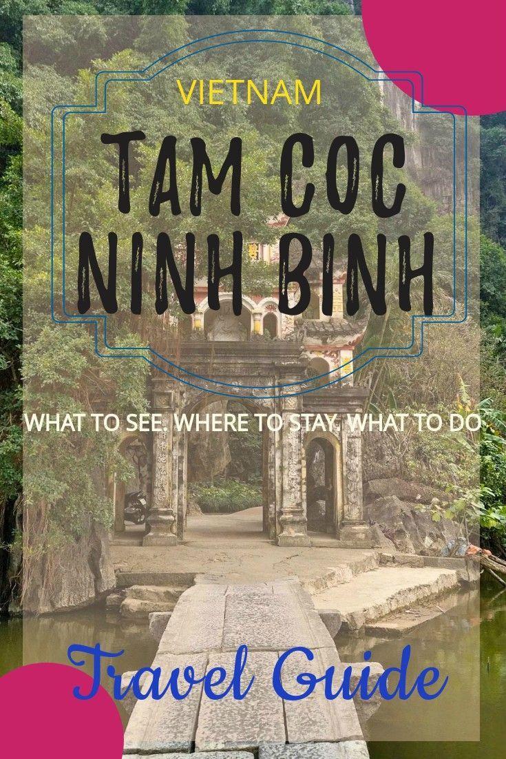 Vietnam - Tam Coc Ninh travel guide. Top things to do in Tam Coc Ninh Binh. Where to stay in Tam Coc. How to Plan your trip to Tam Coc Ninh Binh. Ninh Binh travel guide. Vietnam travel guide. Solo travel in Vietnam.