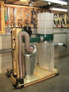HARBOR FREIGHT DUST COLLECTOR CONVERSION - by kdc68 @ LumberJocks.com ~ woodworking community