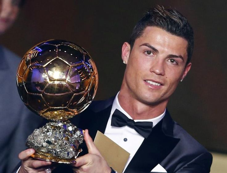 Balon D'Or goes to CR7... Real Madrid star Cristiano Ronaldo beat Lionel Messi and Manuel Neuer to be named the world's best footballer.