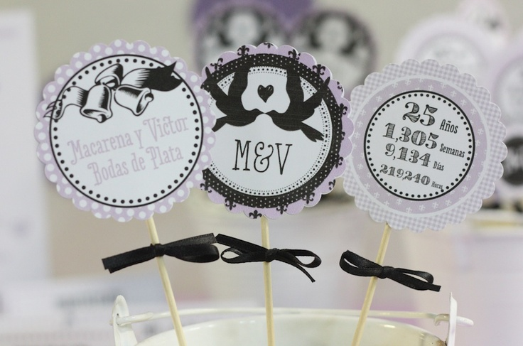 Decoraciones para bodas de plata bodas pinterest bodas - Ideas bodas de plata ...