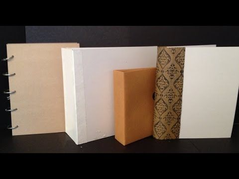 How to Make Covers for Mini Albums and Journals - YouTube