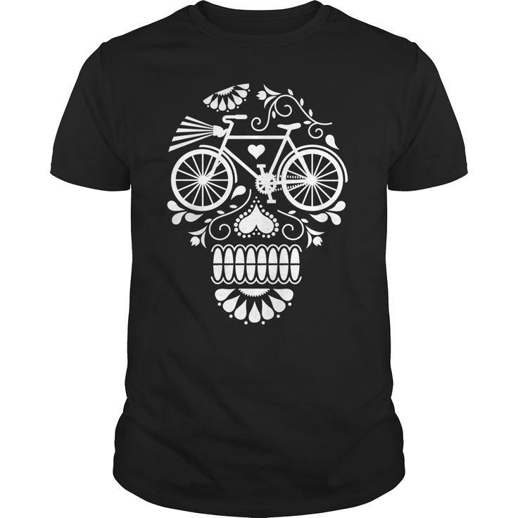 CYCLING SUGAR SKULL SHIRT, Order HERE ==> https://www.sunfrog.com/Sports/CYCLING-SUGAR-SKULL-T-SHIRT-Black-Guys.html?41088, Please tag & share with your friends who would love it , #superbowl #birthdaygifts #renegadelife
