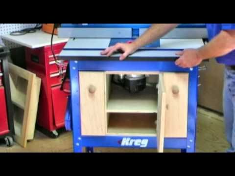 The 25 best kreg router table ideas on pinterest routing table router table cabinet project plan greentooth Image collections