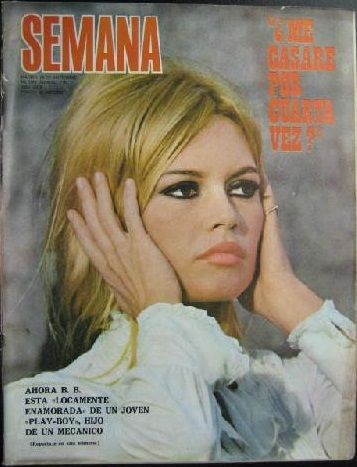 Brigitte Bardot - Semana Magazine Cover [Spain] (23 November 1968)