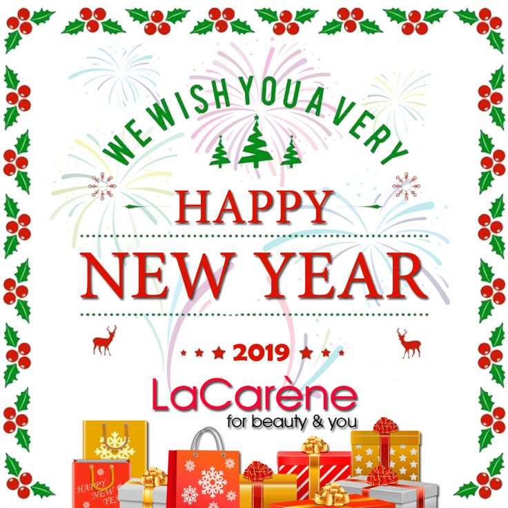 Happy New Year 2019 May the new year bring all the good