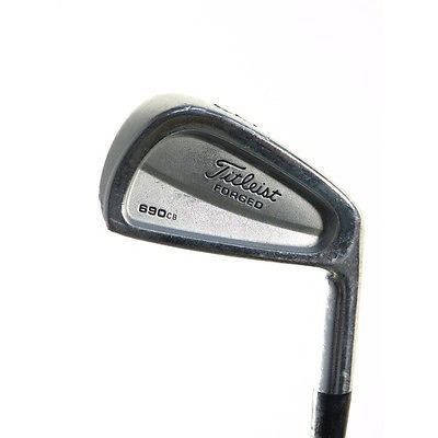 Titleist Golf Clubs 690 Cb Forged 3-Pw Iron Set Stiff Steel Very Good -1.00 inch