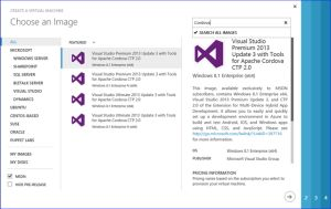 Apache Cordova Azure VM for Visual Studio Tools Released - #apache #cordova #visualstudio