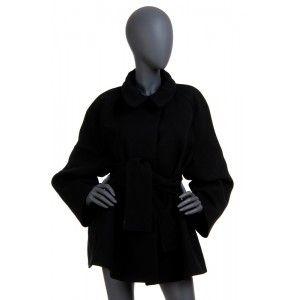 Joseph - czarny płaszcz pelerynka