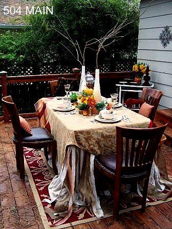 Autumn Tablescape :: Hometalk