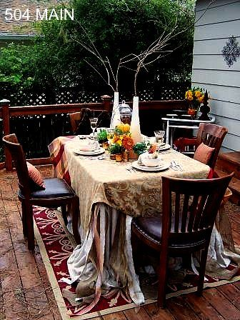 Autumn Tablescape :: Hometalk