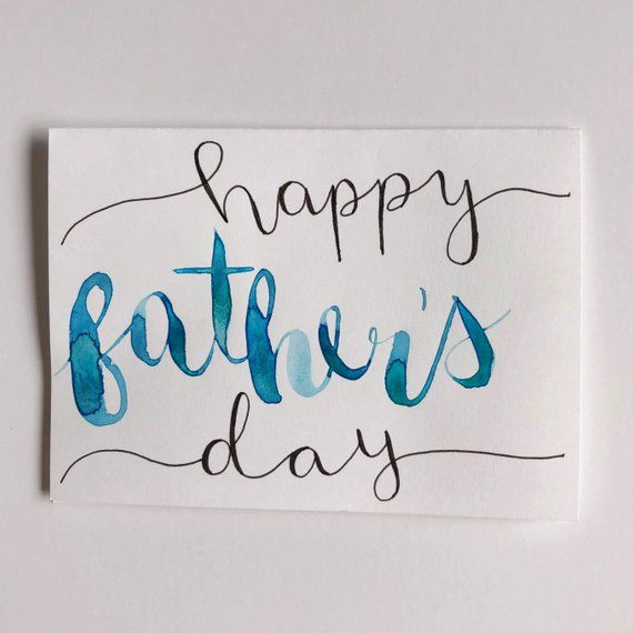 watercolor fathers day printables - 570×570