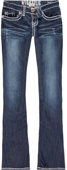 HYDRAULIC Avery Womens Bootcut Jeans thestylecure.com