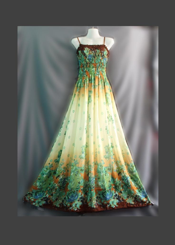 Plus Size Dress Women Maxi Dress Prom Long Dress Change Tone Bridesmaid Dress 1X 2X 3X 4X. $48.00, via Etsy.