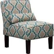 teal accent chair - meijer