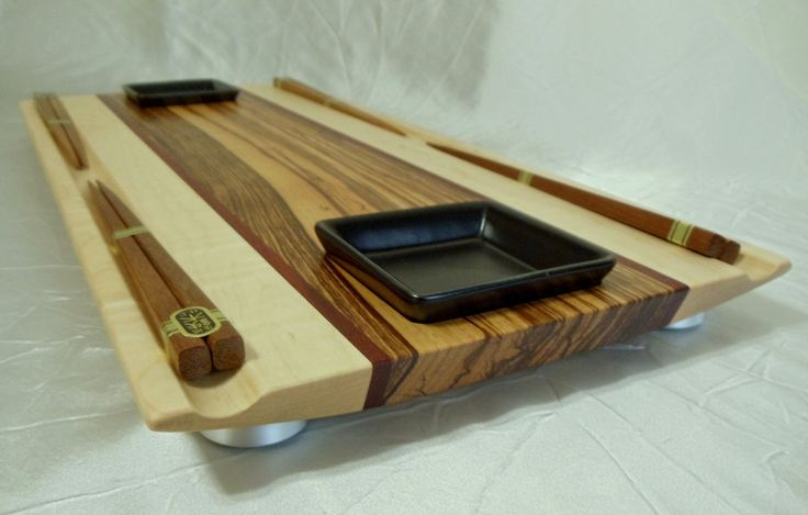 maple sushi board | The Grand Sushi Party Platter / Serving Tray by DPcustoms on Etsy