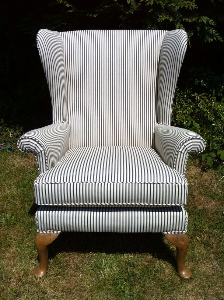 A Parker Knoll Penshurst Wingchair Reupholstered In A