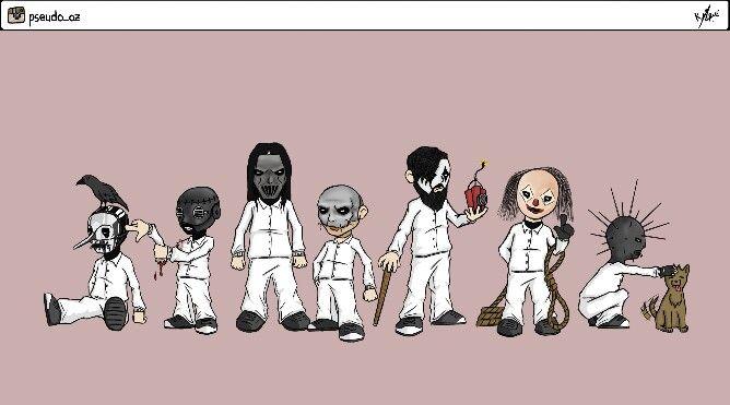 Slipknot new masks