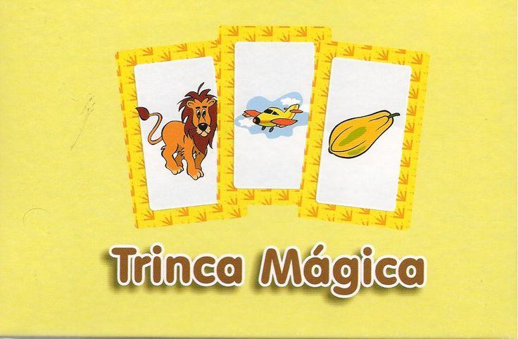 Lá na minha escola...: Trinca mágica - jogo de palavras que rimam