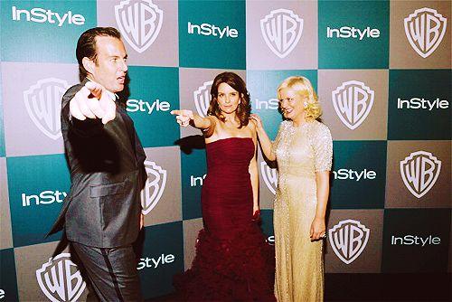 Will Arnett, Tina Fey and Amy Poehler