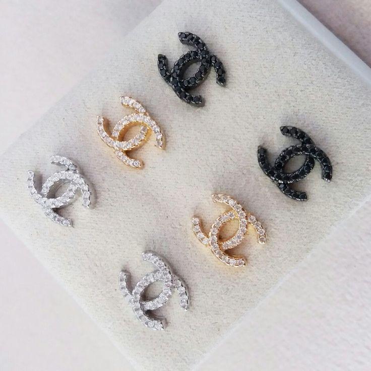 Brinco tipo Chanel        #joias #atacadodejoias #joiasnoatacado #atacado #revender #revenderjoias #dinheiro #extra #dinheiroextra #alta #joalheria #altajoalheria #prata #925 #prata925 #ródio #jewelry #jewels #presente #para #namorada #dia #namorados #mães #mãe #dica #criativo #criativa