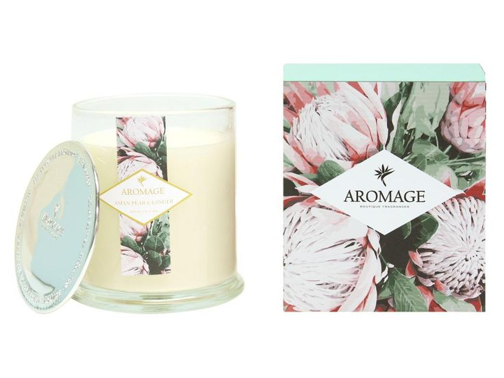 Asian Pear & Ginger Scented Candle 350g