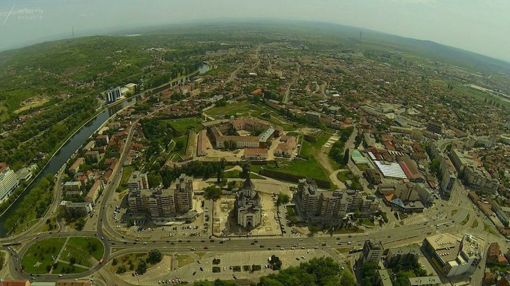 Oradea from above