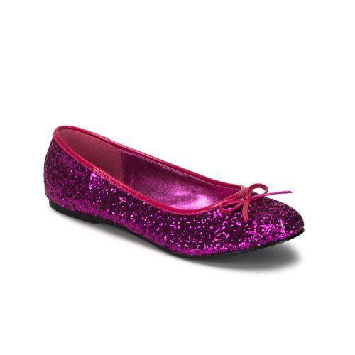 cute women�s ballet flat shoes glitter bow hot 171 holiday