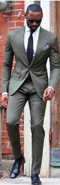Good looking men's suit