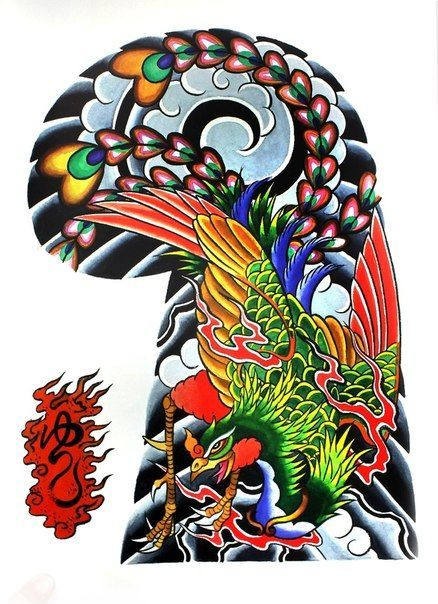 Tattoo Flash Book - Garyou Tensei: 108 Japanese Tattoo Sleeve Designs by Yushi 'Horikichi' Takei