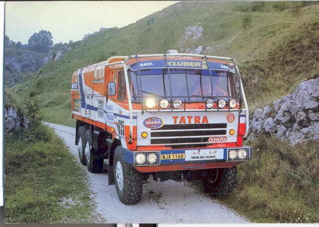 Tatra T815 6x6 Dakar 1986
