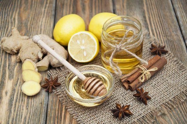 Miód, imbir i cytryna