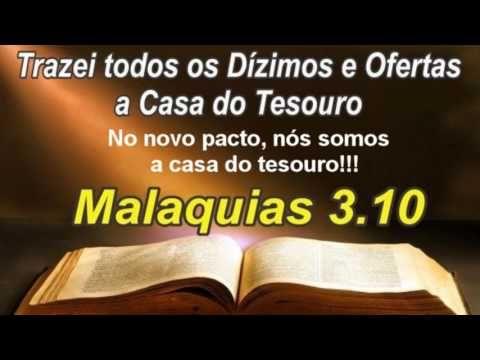 #205 - Nós somos a casa do Tesouro no novo Pacto - Malaquias 3/Hb 8 - YouTube