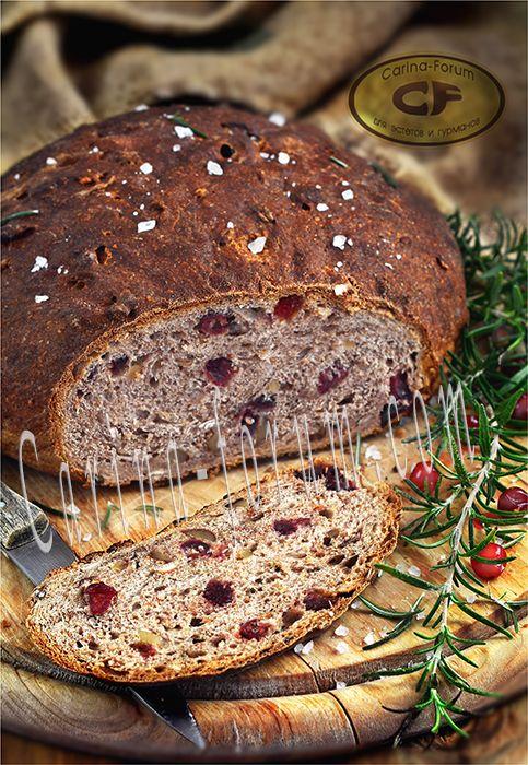 Finnische Cranberry Brot - Puolukkaleipa