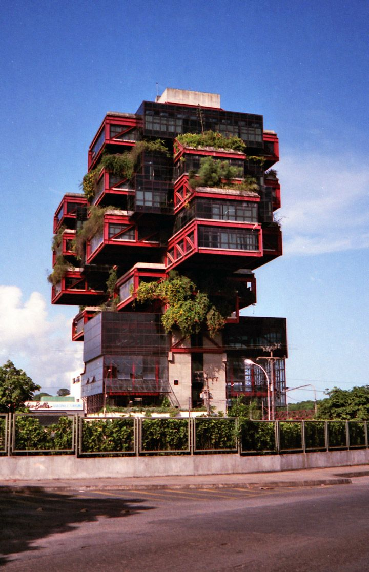 Green Apartments in Salvador de Bahia, Brazil - I want to live here.