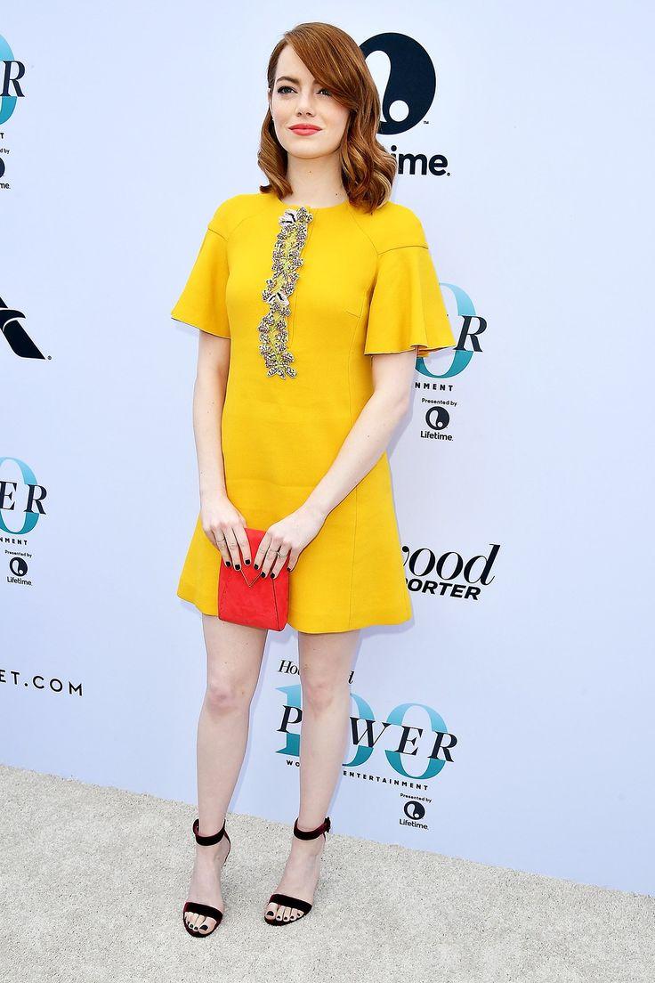 "Week in Fashion: Emma Stone's Stunning ""La La Land"" Tour Continues"