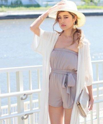 夏に着たい爽やかコーデ!元気いっぱいギャル系タイプのコーデ♡参考にしたいスタイル・ファッション