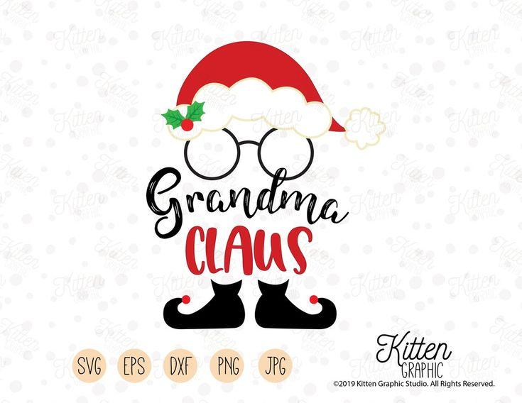 Download Grandma Claus - SVG File - Instant Download | Svg ...