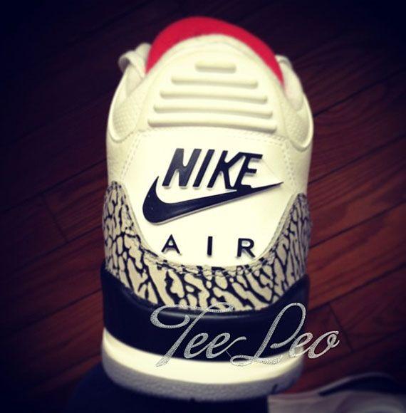 20343b026441 Air Jordan 3  88 - 2013 Retro to Feature Nike Air logos