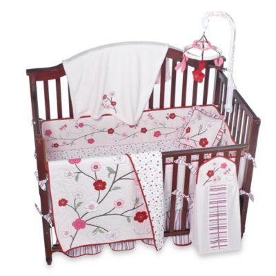 Cherry Blossom Crib Bedding & Accessories by Kids Line™ - buybuy BABY