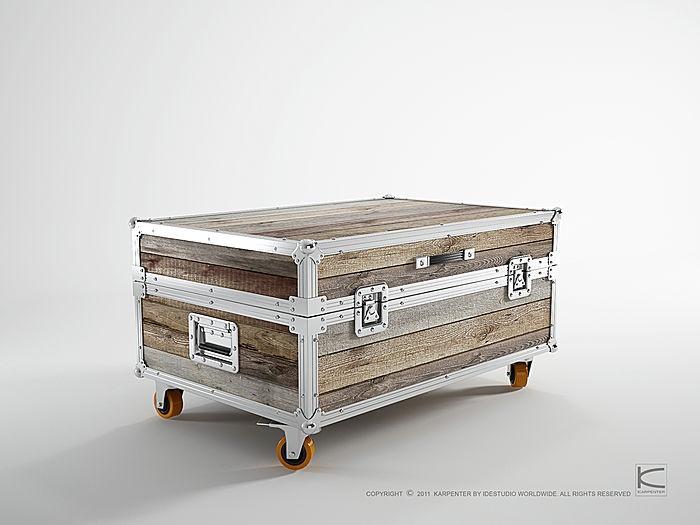 17 Best images about Flight Case Furniture on Pinterest  Livingstone, Sustai -> Meuble Tv Flight Case