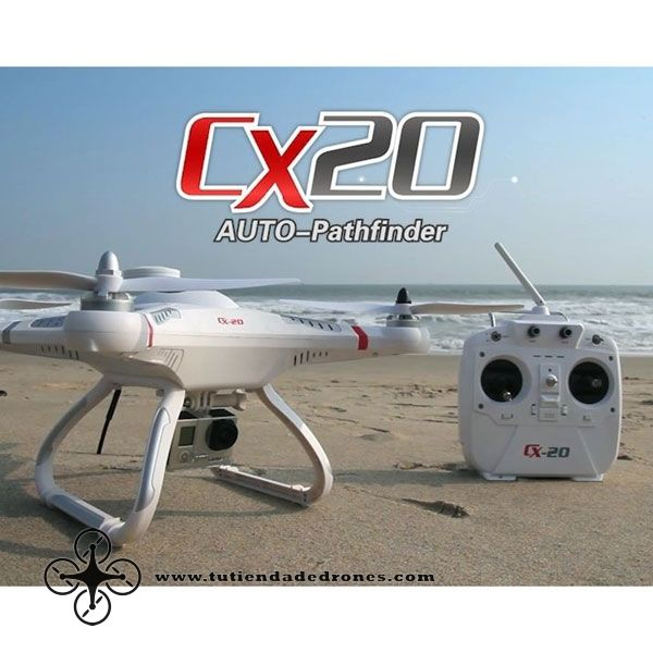 Cheerson CX20 CX-20 Open-source Version Auto-Pathfinder Quadcopter RTF -- 209,16€
