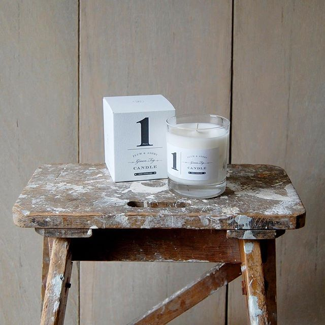 Have you tried our lovely hand-poured candles? Green Fig is one of our favourites! #plumandashby