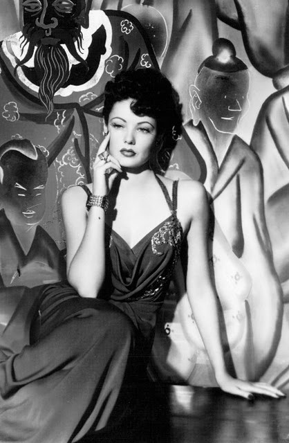 """Gene Tierney in """"Laura""""  This film has one of the most gorgeous theme songs ever written."""