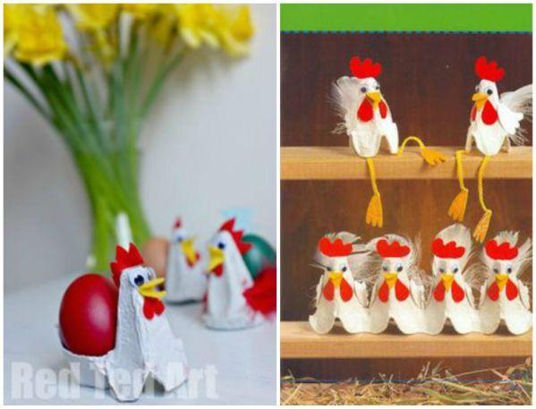 20+ Upcycled Egg Carton Decorating Ideas | www.FabArtDIY.com - Part 3