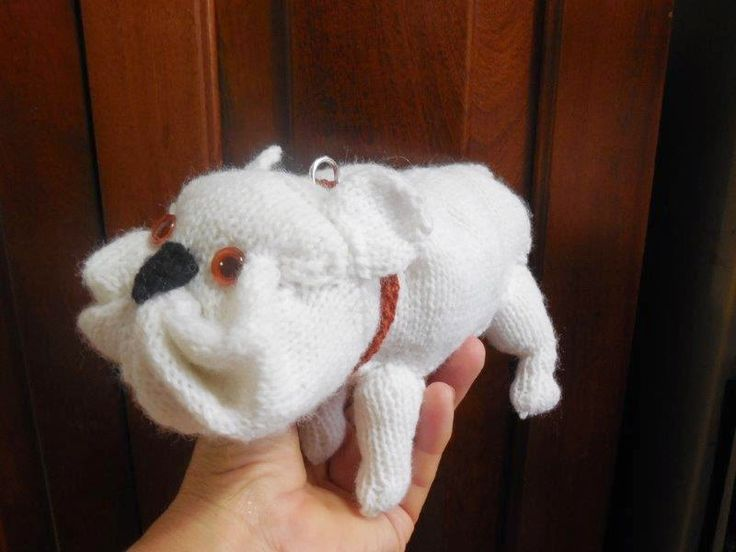 Adriana's French Bulldog. Knitting pattern by the Best in Show Series