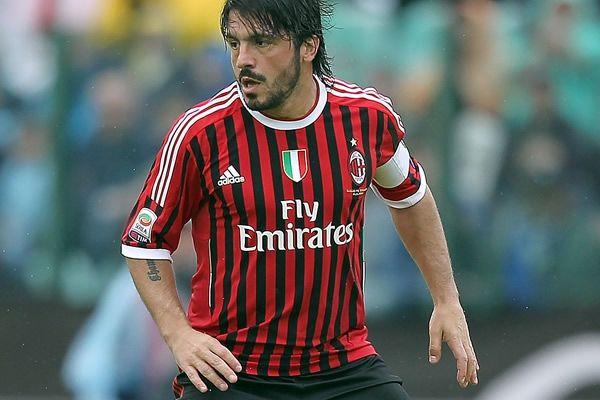 "Gennaro ""Rino"" Ivan Gattuso, 9.1.1978 in Corigliano Calabro, Italy. AC Milan"