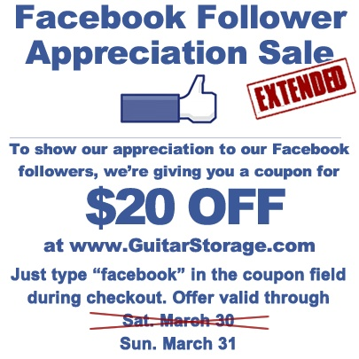 memorial day sale guitar center